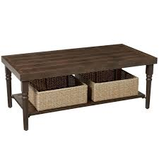hampton bay lemon grove wicker rectangle outdoor coffee table tables d11230 tc 64