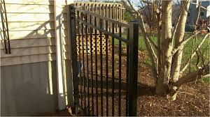 diy paint wrought iron fence decorative metal fence installation tips installing posts and