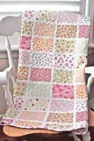 Cot quilt using Tanya Whelan fabric | Sewing Quilts | Pinterest ... & Pretty Floral Patchwork Baby Nursery Cot Quilt Set, Throw, Coverlet, Shabby  Chic in Adamdwight.com