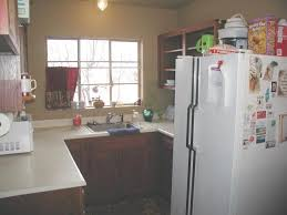 This Kitchen Is A Disaster For Many Reasons. But Why Would You Buy A HUGE  Refrigerator In Such A Tiny Space.