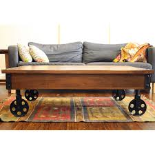 coffee table timbergirl reclaimed wood industrial cart wheels coffee table coffee table on wheels melbourne