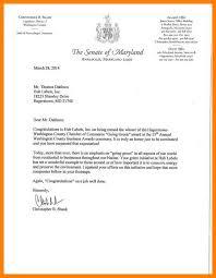 Congratulations Letters For Award 12 13 Congratulation Letter Template 14juillet2009 Com
