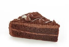 chocolate cake white background. Delighful White To Chocolate Cake White Background Colourbox