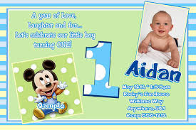 first birthday invitation wording for baby boy