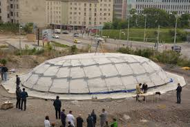 Inflatable Concrete Inflatable Concrete Structures Are The Future Of Construction
