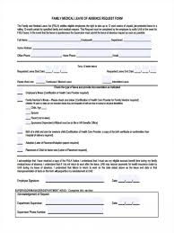 form templates leave request in pdf template selfon sickness absence breathtaking cal rare certification tlc nc