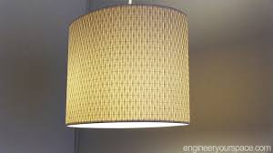 IKEA HACK easy DIY pendant lamp with ALANG lamp shade Smart DIY
