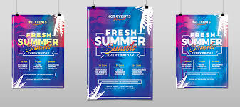 flyer for an event fresh summer events flyer template hollymolly
