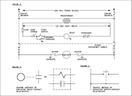 engineering symbology prints and drawings module 3 figure 14 examples of relays and relay contacts