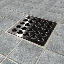 oil rubbed bronze shower drain. Modren Oil Ebbe E4407 Square Shower Drain Grate Oil Rubbed Bronze  Bathtub Drains  Amazoncom With C