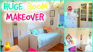 Small Bedroom Makeover Amazing Room Makeover For Teenagers Small Bedroom Makeover
