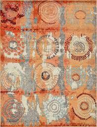 orange area rug. Popular Orange Area Rug Pertaining To World Menagerie Hayes Reviews Wayfair Prepare 5