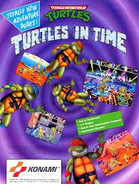 Ninja Turtles Arcade Cabinet Teenage Mutant Ninja Turtles Turtles In Time 4 Players Ver Uaa