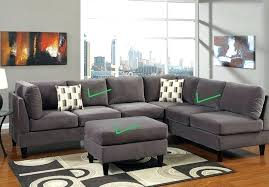 reversible sectional sofa chaise reversible sectional sofa reversible sectional sofas with chaise acme furniture vogue microfiber