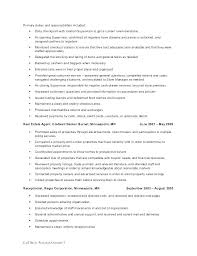 Personal Assistant Duties Personal Assistant Resume Objective Resume