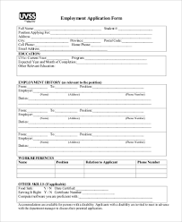 free generic job application generic employment application form samples 8 free documents in