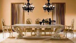 Italian Dining Room Tables Rosella Ivory Lacquer Classic Dining Table By Esf Woptions Classic
