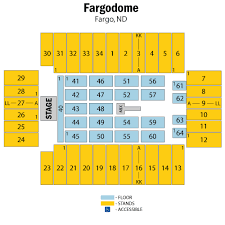 Minot State University Dome Seating Chart Fargodome Fargo Tickets Schedule Seating Chart Directions