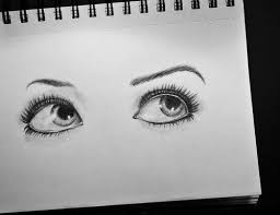 eyes drawings eye drawing discovered by jennifer on we heart it