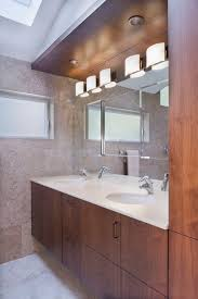 double vanity lighting. Bathroom Vanity Lighting Design Contemporary With Wood Cabinets Recessed Double O