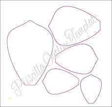 Paper Flower Template Pdf Paper Flower Patterns Pdf Flowers Healthy