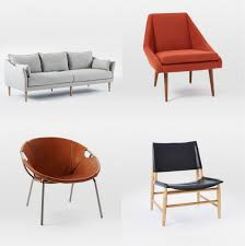 west elm spring 2016 sofa and chairs