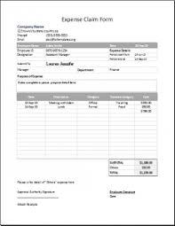 Expense Reimbursement Form Templates Charlotte Clergy Coalition