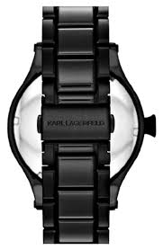 karl lagerfeld kl1201 black dial ion plated men s watch karl karl lagerfeld kl1201 black dial ion plated men s watch