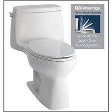 KOHLER Santa Rosa White WaterSense Labeled Elongated Chair Height 1-piece  Toilet 12-in