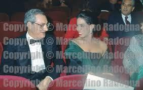 Marcellino Radogna - Fotonotizie per la stampa: Cesare Romiti con Marisela  Federici