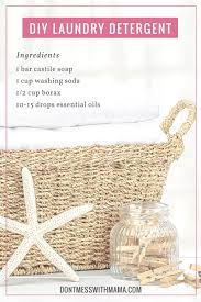 DIY Natural Laundry Detergent - Don\u0027t Mess with Mama