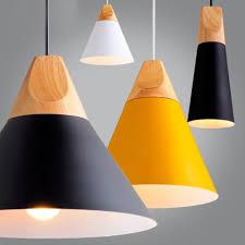 Modern Pendant Lighting Malaysia Modern Wood Pendant Lights Lamparas Colorful Aluminum Lamp