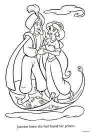 Jasmine E Aladdin 5 Disegni Da Colorare Gratis Disegni Da Colorare