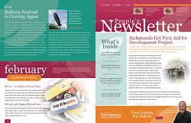 Newsletters Templates 46 Printable Newsletter Templates In Psd Indesign Formats