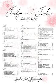 Wedding Seating Chart Sparkler Send Off Fireworks