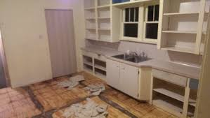 How To Remove Kitchen Tiles Tearing Apart Our Rental Beginning Stages Of Diy Life And My