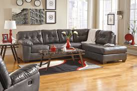 Leather Sectional Living Room Living Room With Grey Leather Couch Yes Yes Go