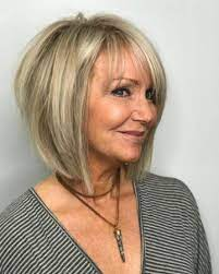 Women over 60 who wear glasses look best with different short hairstyles. Pin On Hair