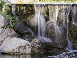 how to design a waterfall for your pond
