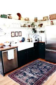 black kitchen rugs medium size of fascinating grey and black kitchen concept bright red mat white