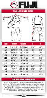 Belt Size 110 Chart Size Charts White Belt Brazilian Jiu Jitsu