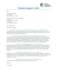 Appeal Letter Format Examples Best Photos Of Appeal Letter Sample Financial Aid Appeal