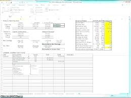 Excel Roi Template Investment Spreadsheet Template Excel Roi Free Xls Example