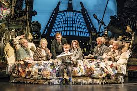 charlie and the chocolate factory the new musical dad blog uk the bucket family at home pic credit matt crockett