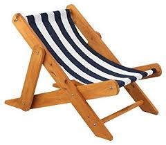 outdoor sling chairs. KidKraft 102 Outdoor Sling Chair With Navy Stripe Fabric Chairs