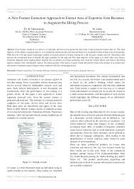 area of expertise resume international journal on recent and innovation  trends in computing and communication area
