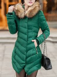 Hooded Pocket Quilted Padded Coat - fashionMia.com & Hooded Pocket Quilted Padded Coat Adamdwight.com