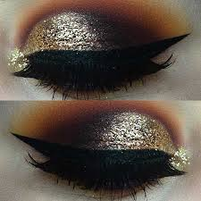 dramatic eye makeup look for new years eve