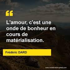 Lamour Cest Une Onde De Bonheur En Cours De Matérialisation