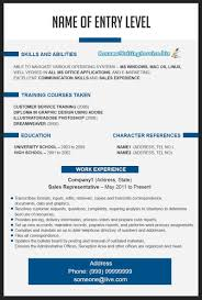 Free Resume Templates Latest Layout Examples For Sales Associate